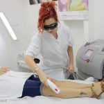 במכון היופי ביוטי ארט אנו מבצעים הסרת שיער אפקטיבית במיוחד בשיטת קרן אור (IPL) באמצעות המכשיר החדשני מבית mp4