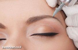 איפור קבוע גבות ואיפור קבוע ריסים